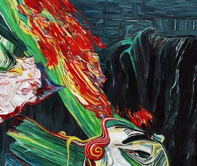 phantasmagoria emerging from the head