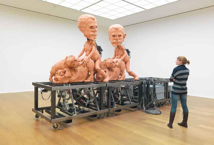 4-paul-mccarthy-installation-view-hauser-wirth-london-train-mechanical-3