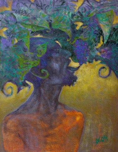Bachus - Self Portrait