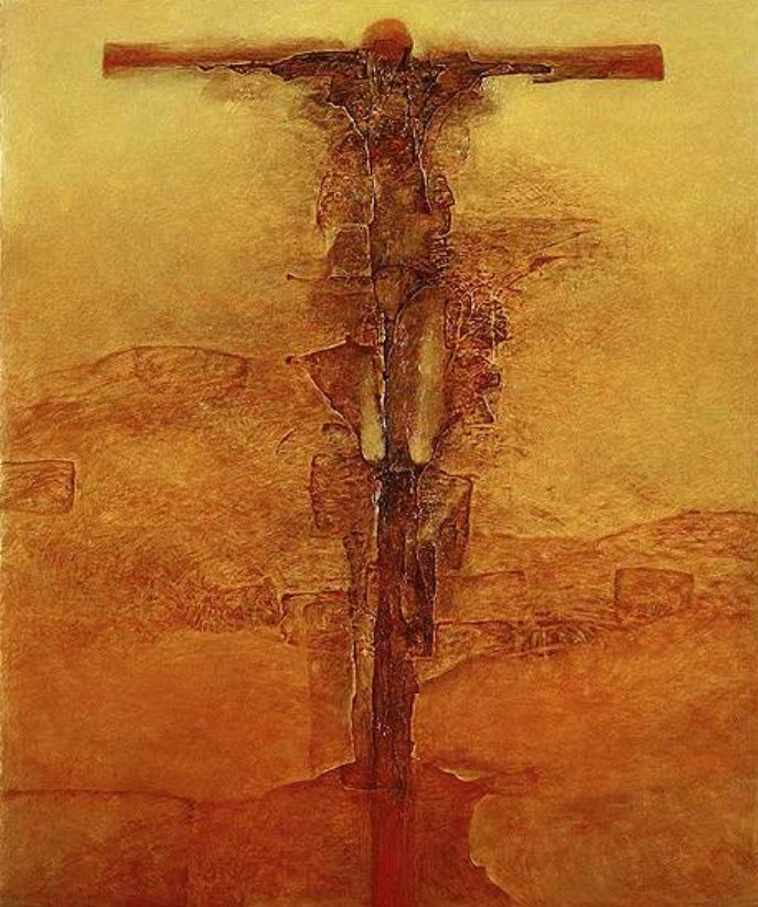 Zdzisław Beksiński Crucifixion