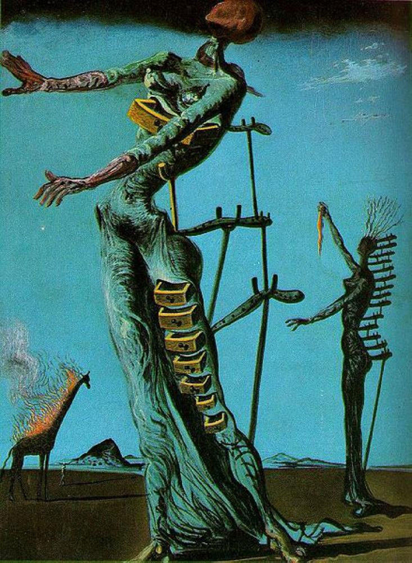 The_Burning_Giraffe-1937 by Salvador Dali