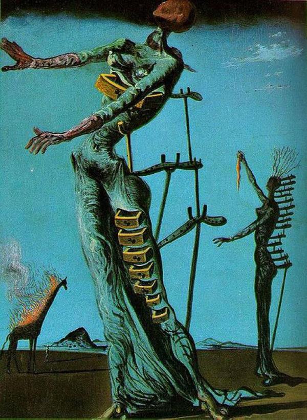 The_Burning_Giraffe-1937 by Salvador Dali