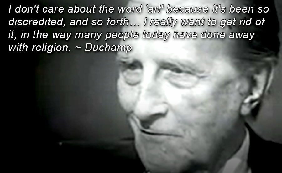 Duchamp-against-art