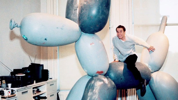 Koons-on-balloon-dog