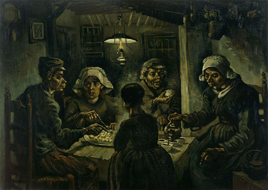 The-Potato-Eaters-by-Van-Gogh