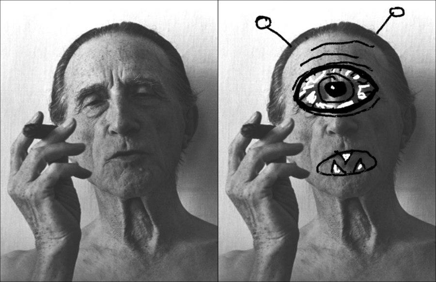Marcel Duchamp as a Cyclops