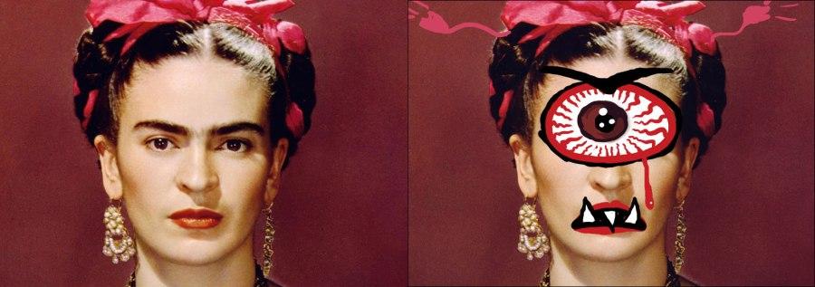 Krida Kahlo as a Cyclops