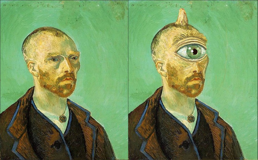 Vincent Van Gogh as a Cyclops