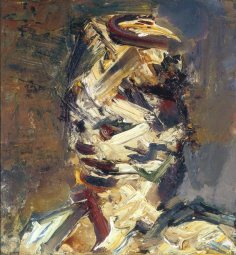 Portrait of Julia, 1983, by Frank Auerbach,