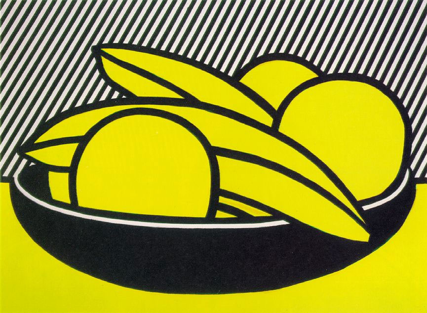 Bananas-And-Grapefruits,1972-Artwork-by-Roy-Lichtenstein