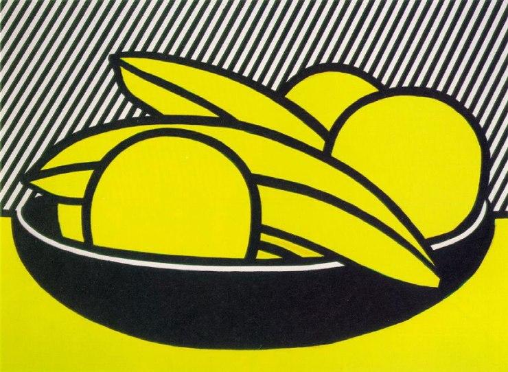 Bananas-And-Grapefruits,1972-Artwork-by-Roy-Lichtenstein
