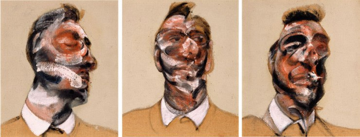Francis-Bacon,-'Three-Studies-for-a-Portrait-of-George-Dyer-(on-light-ground)',-1964