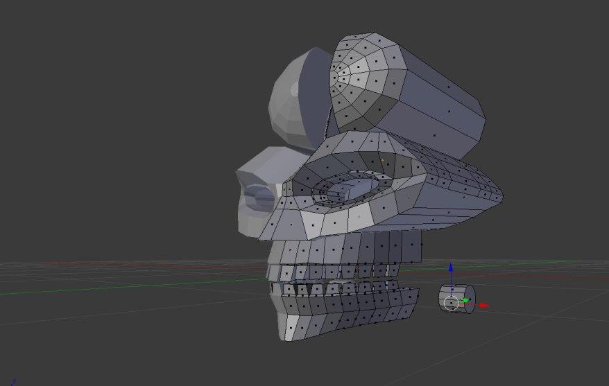 skull-robot