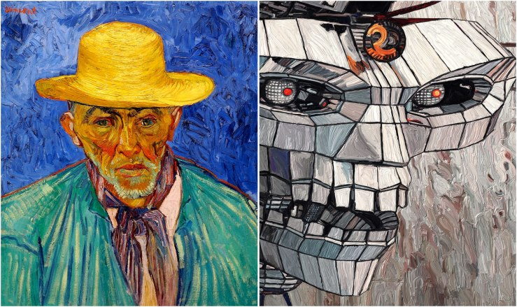 Van-Gogh-and-Robot