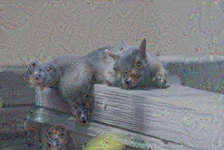 Google Deep Dream inceptionism squirrels