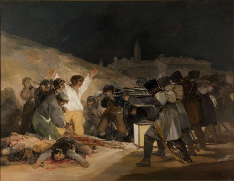 The Third of May 1808, 1814, by Francisco Goya