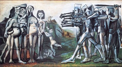 Massacre in Korea, by Pablo Picasso, 1951.