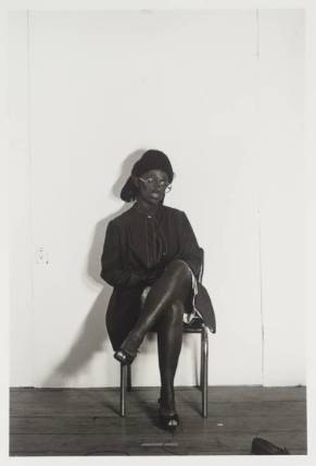Untitled 1976, printed 2000 by Cindy Sherman born 1954