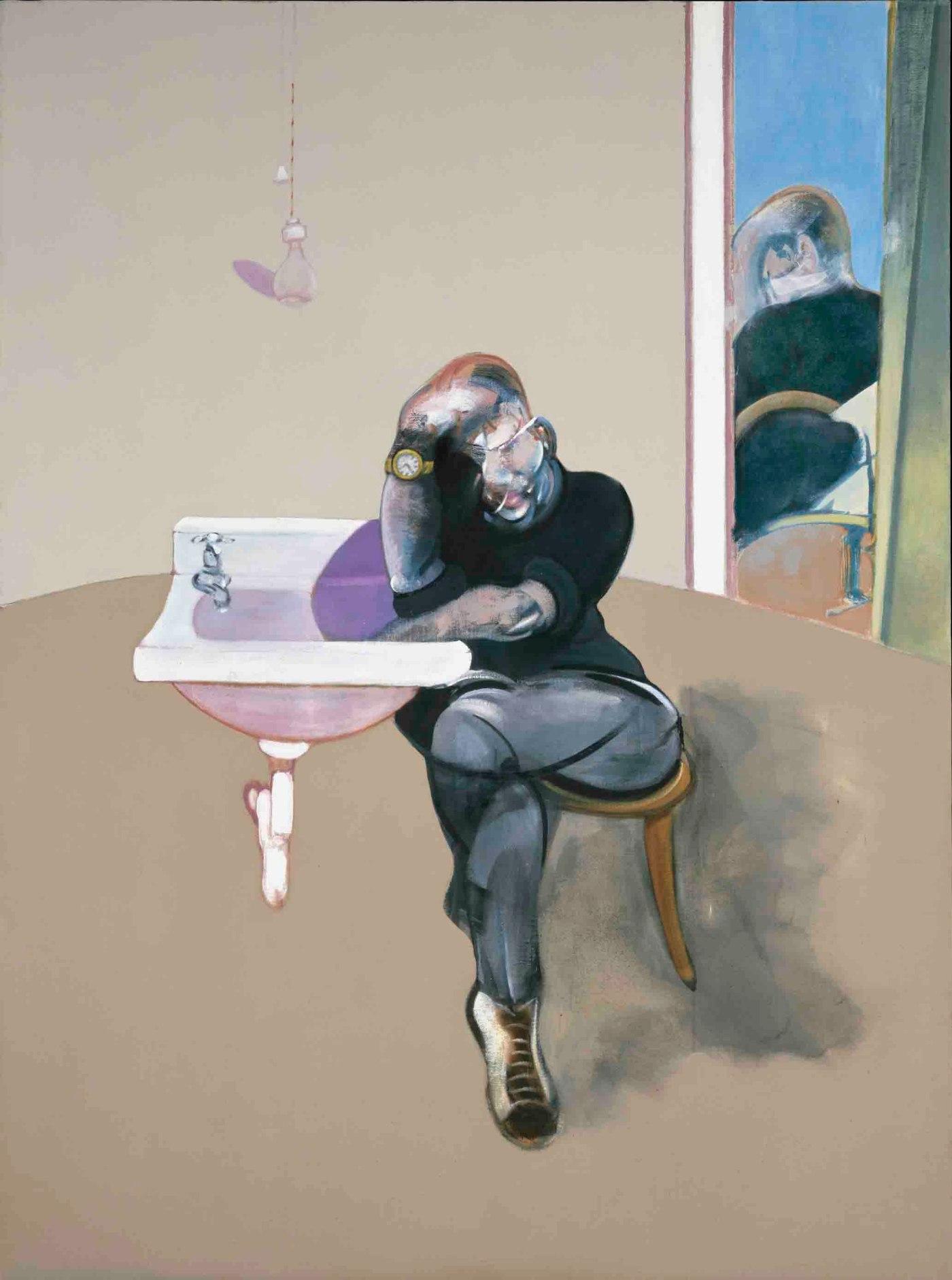 "Francis Bacon, ""Self Portrait"" (1973)"