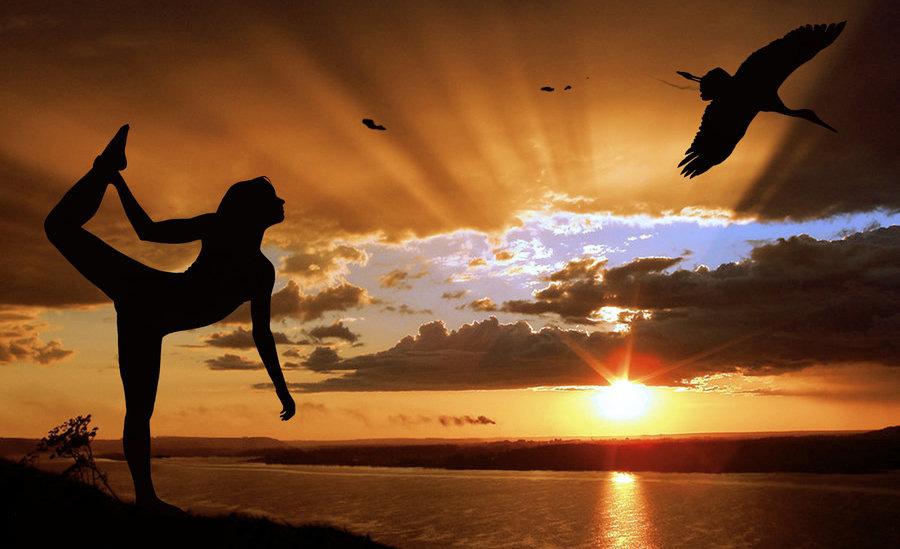 Ballerina-at-Sunset