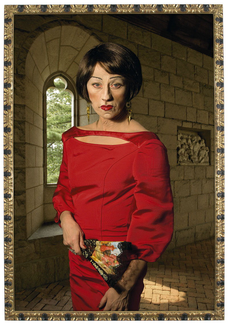 Cindy Sherman ageing Asian