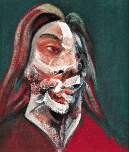"Center canvas from ""Three Studies of Isabel Rawsthorne (1966)""."