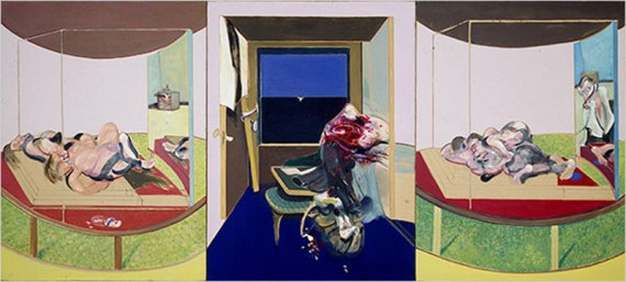 "Triptych Inspired by TS Eliot's Poem ""Sweeney Agonistes,"" 1967"