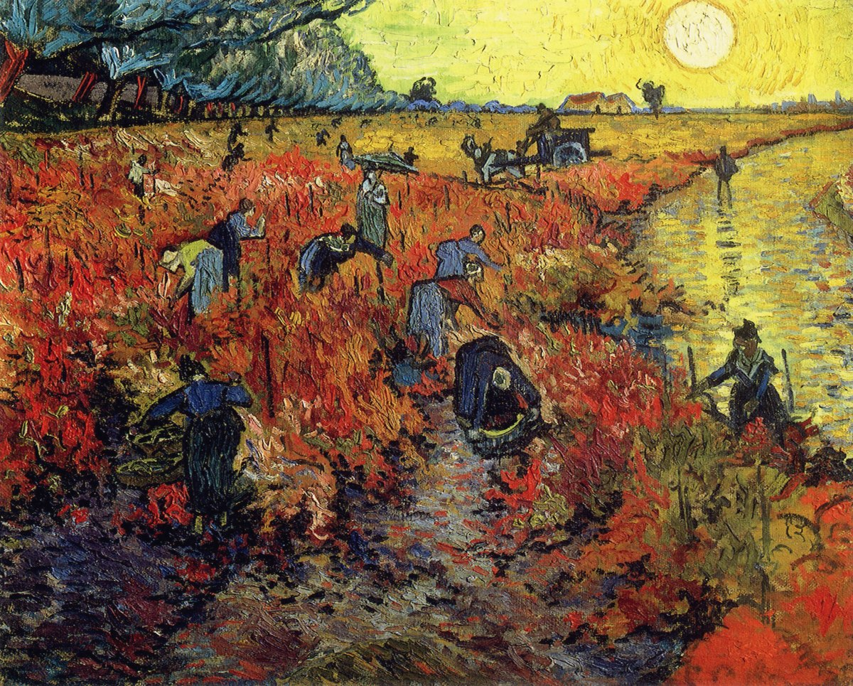The Red Vineyard, and why Van Gogh only sold one painting in his lifetime.