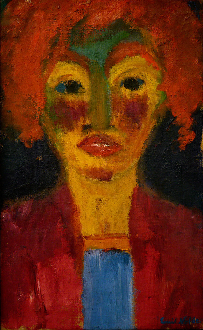 1919-Emil_Nolde-Red-Haired_Girl-P1080571-2