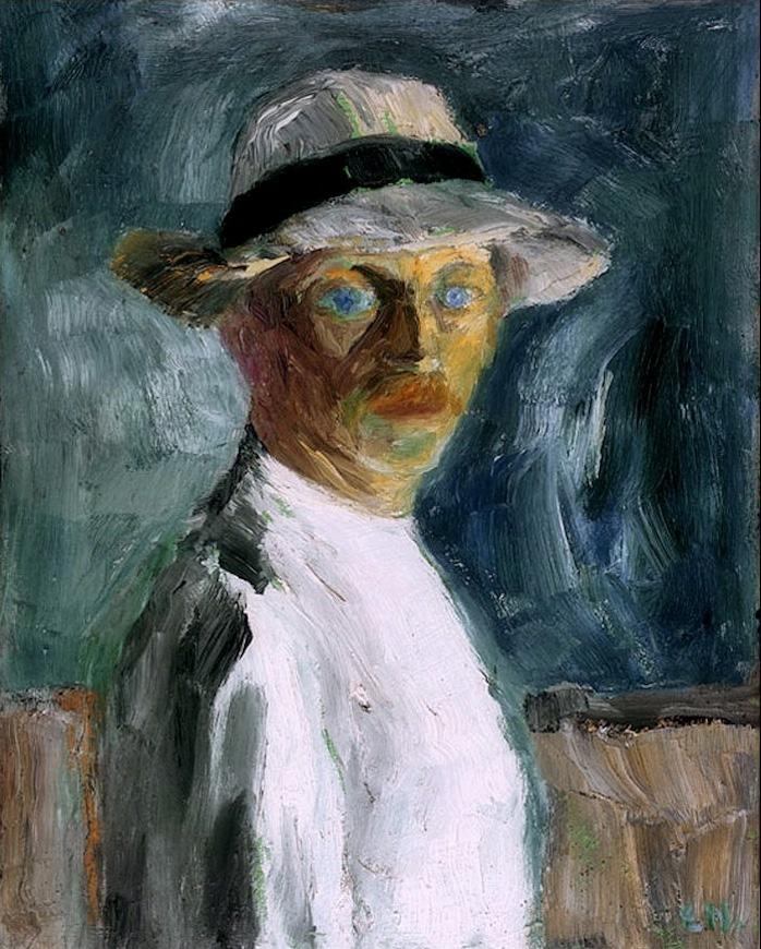 German-expressionism-Emil-Nolde-Self-Portrait