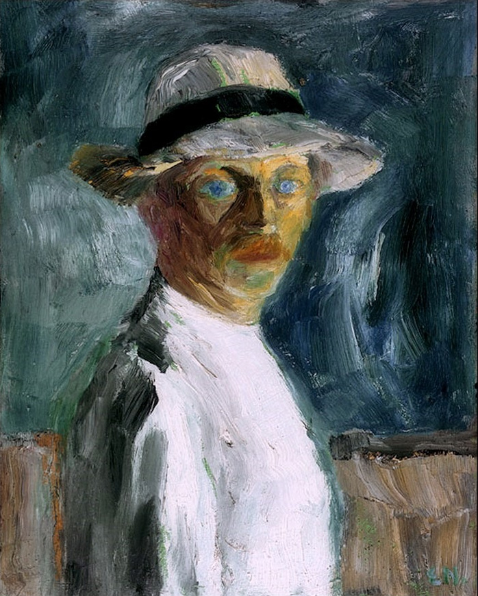 German-expressionism-Emil-Nolde-Self-Portrait