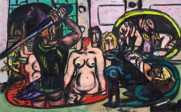 Max-Beckmann,-Perseus'-Last-Duty-(1949)