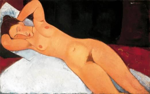 Nu 1917, by Modigliani
