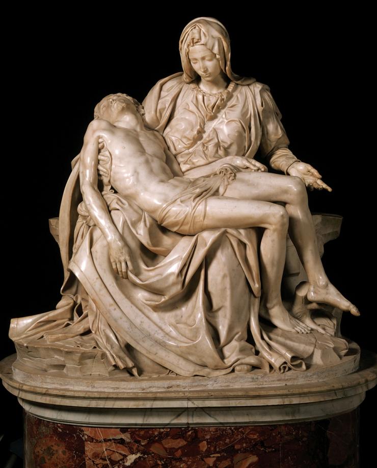 ca. 1498-1500 --- by Michelangelo Buonarroti --- Image by © Araldo de Luca/CORBIS