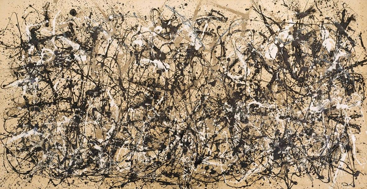 Pollock-painting