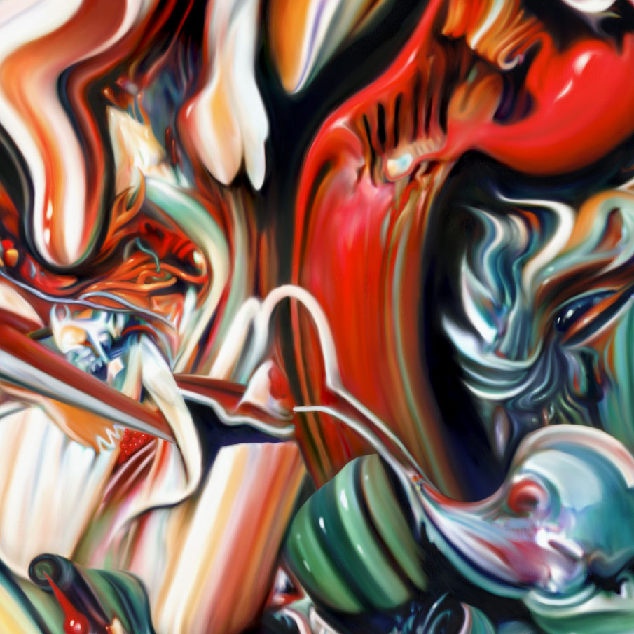 work in progress digital painting abstraction