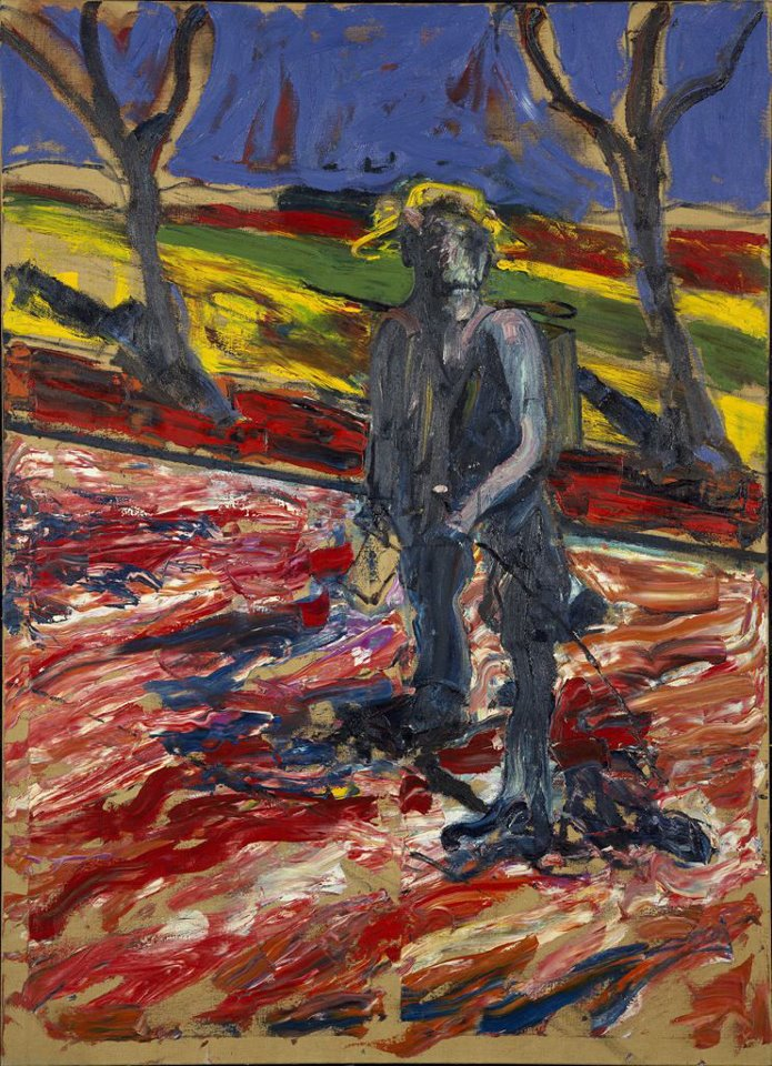 09_Francis Bacon, Study for Portrait of Van Gogh III, 1957