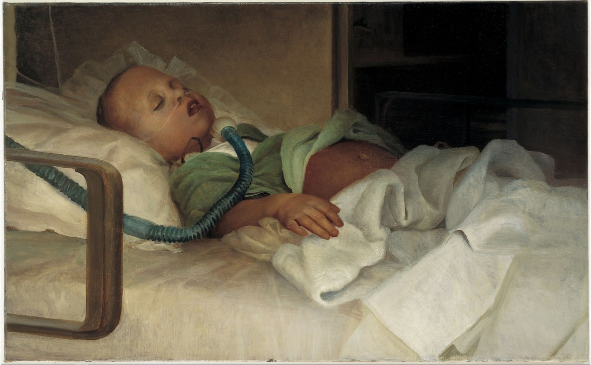 """""""Study-of-a-Hero's-Life""""-(Vincent-Desiderio,-1990)"""