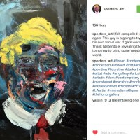 Tyler Scully's Expressionist Trump Paintings