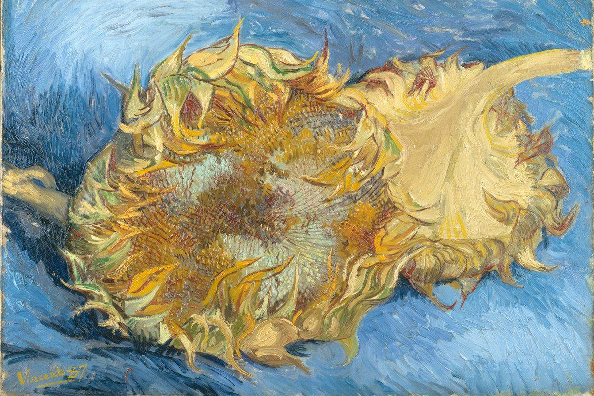 Sunflowers, 1888. by Van Gogh