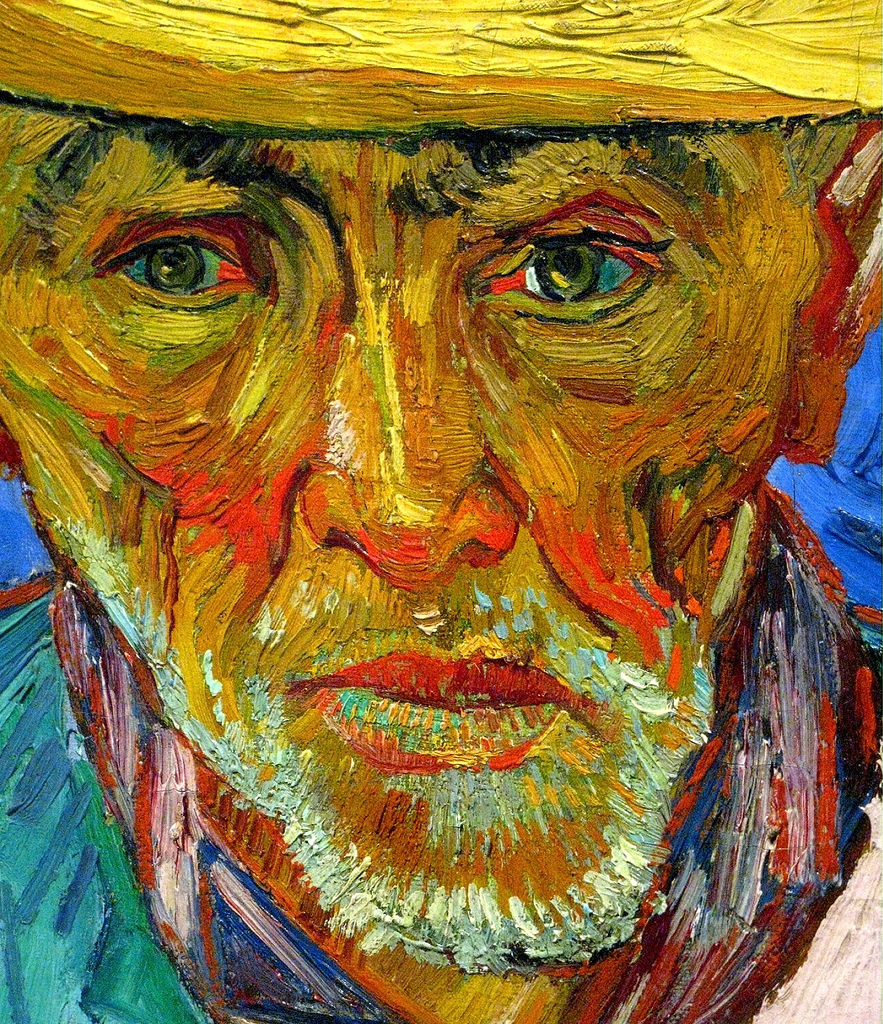 Portrait of a Peasant (Patience Escalier) by Vincent Van Gogh.