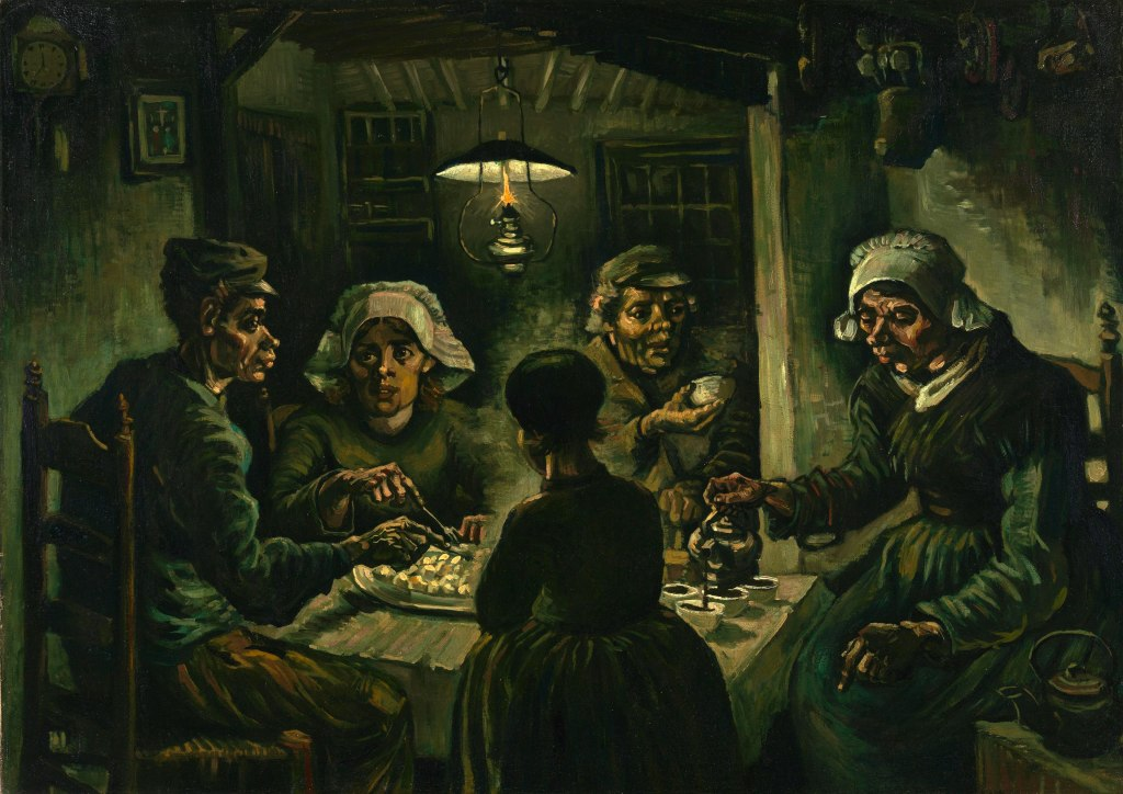 The Potato Eaters, 1885 by Vincent Van Gogh