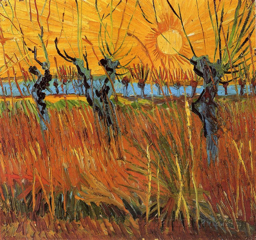 willows-at-sunset-by-vincent-van-gogh