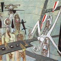 The Insectoid Figurative Gems of Roberto Matta