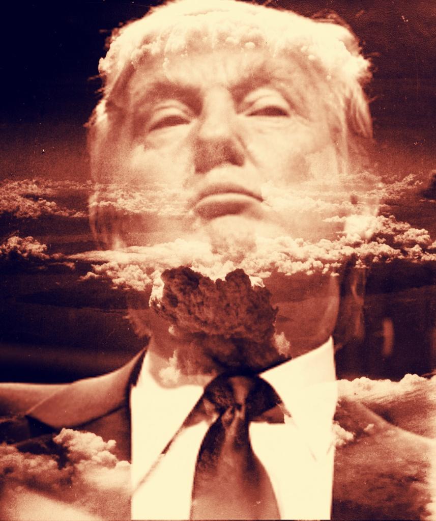 Trump Nuclear War Explosion