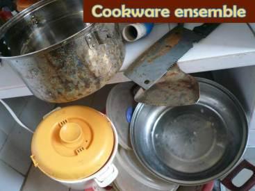 Cookware ensemble