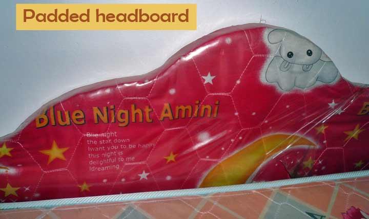 Padded headboard