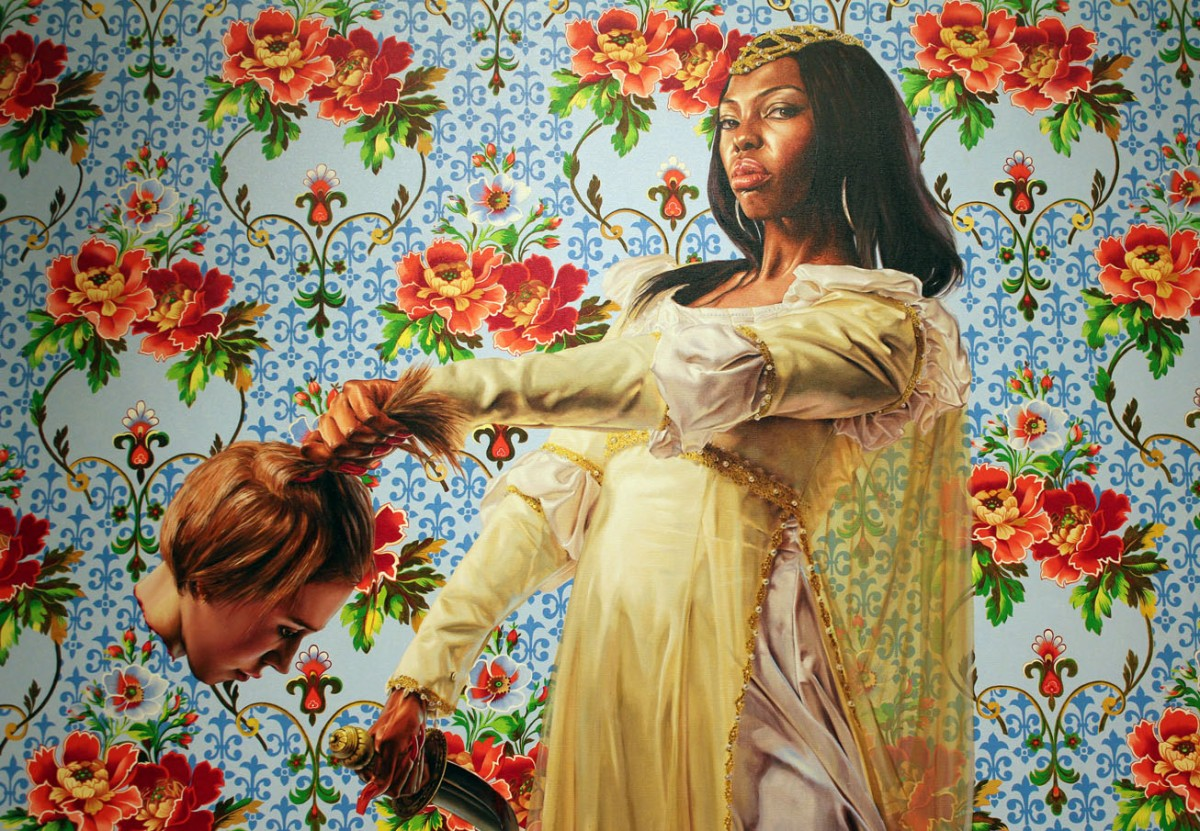 The Obama Portraits and Wiley's Beheaded White Woman Paintings