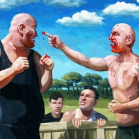 25 of my Best Images: #23 - Bare Knuckle Brawl