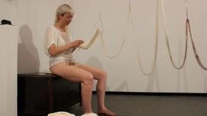 Casey Jenkins, vaginal knitting performance.